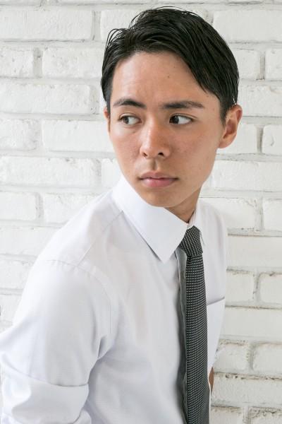 【Men's】ビジネスでも決まる!スッキリショート!
