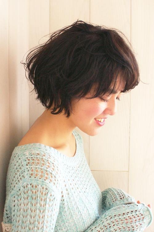 大人かわいいセミウェットショート☆