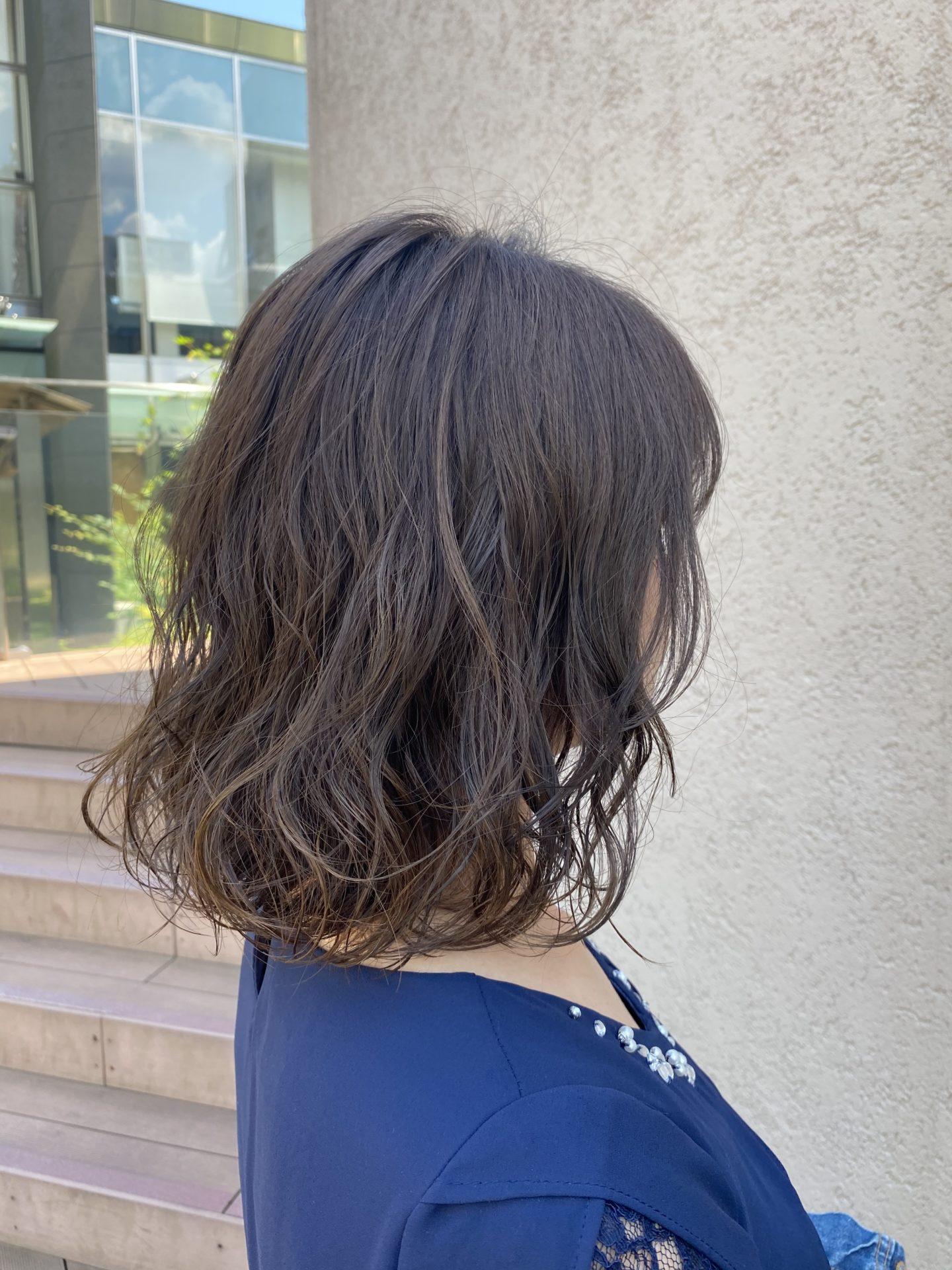 デジタルパーマで髪質改善♪
