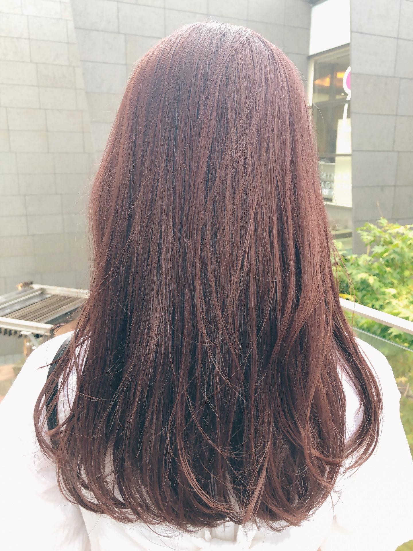 派手髪入門カラー!