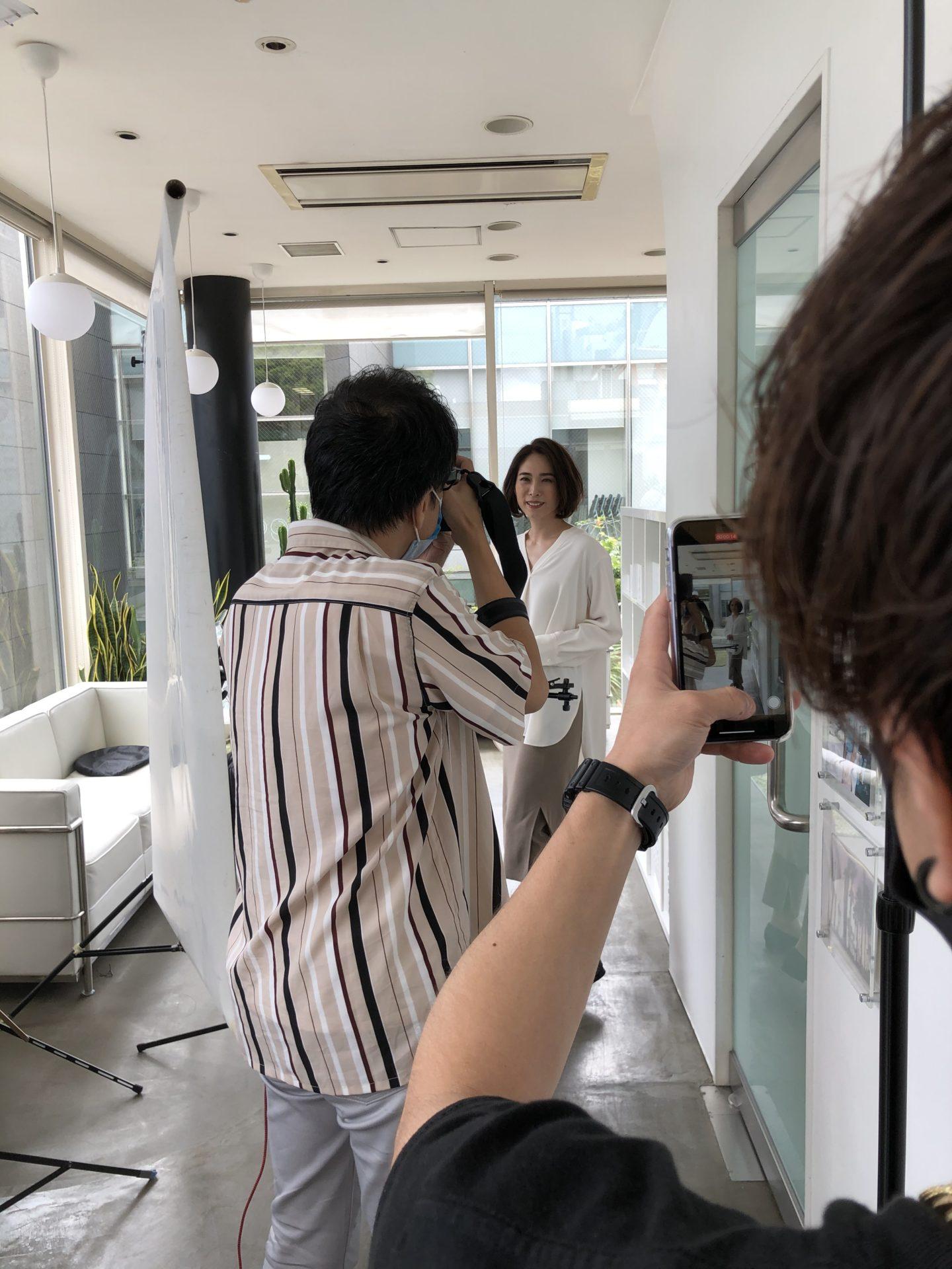 precious.jpの撮影でした♪