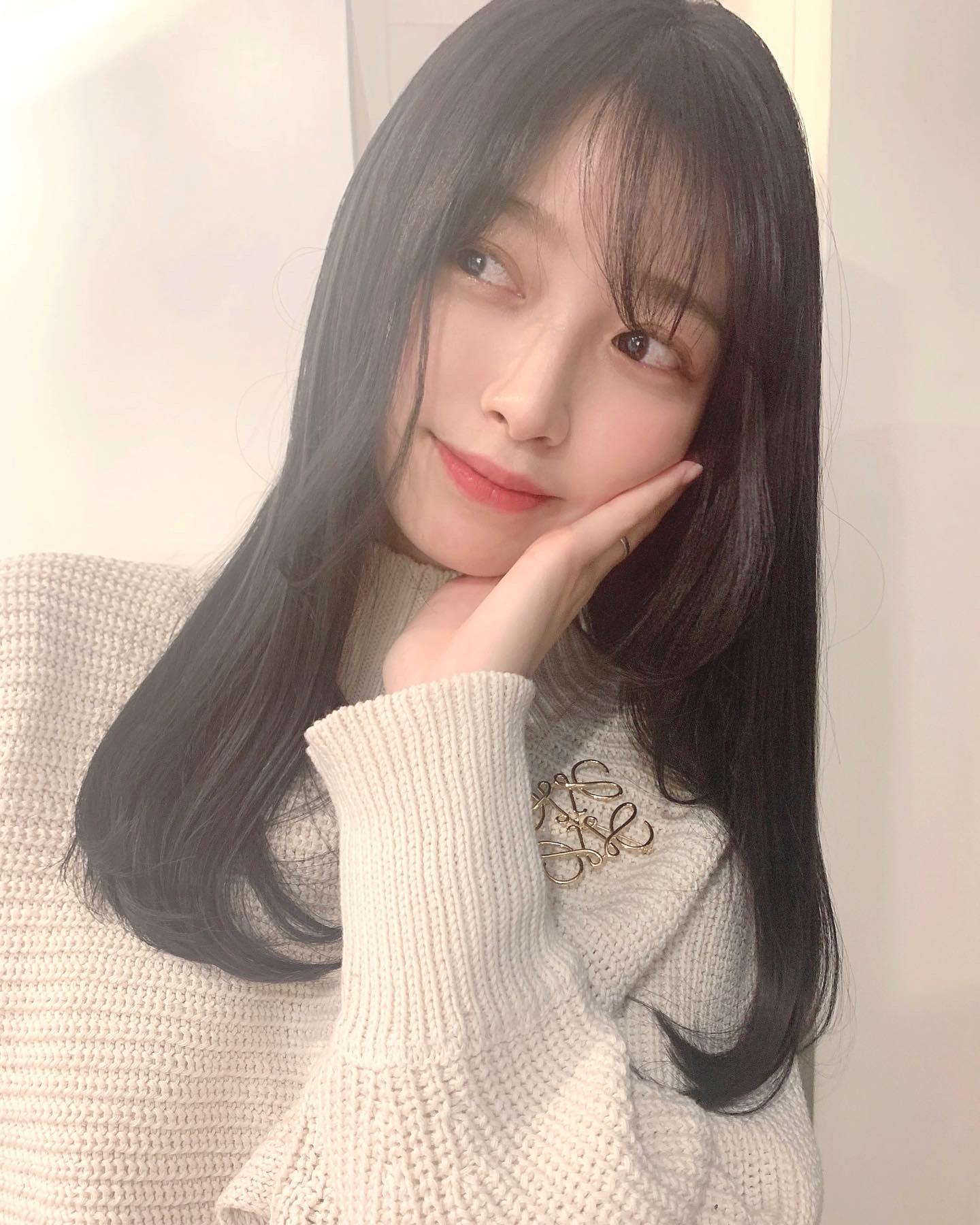 モデルの杉浦花奈ちゃんご来店!透け感ブラック♪^ ^