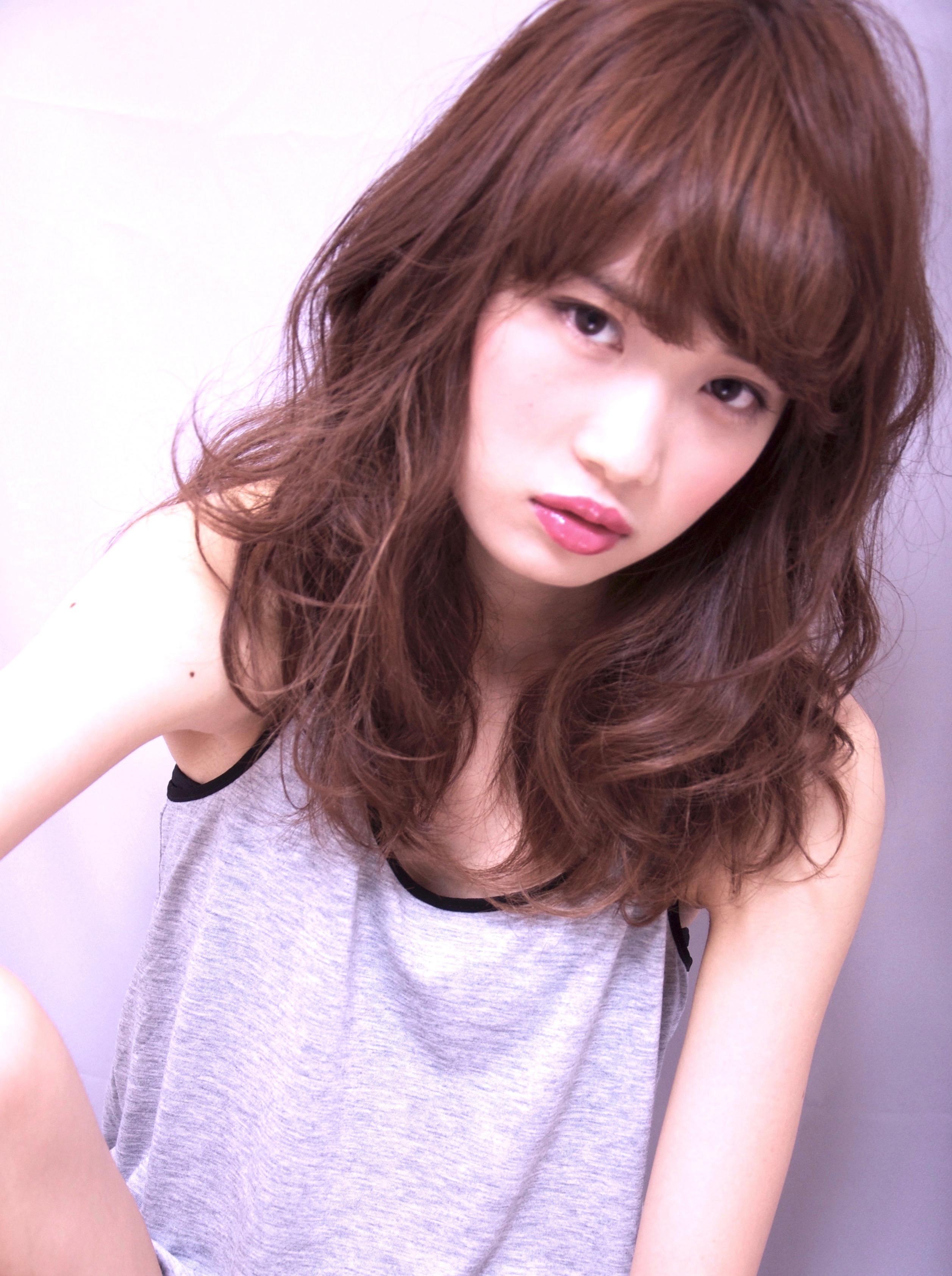 『色気と艶髪』×『 アッシュ バイオレット』