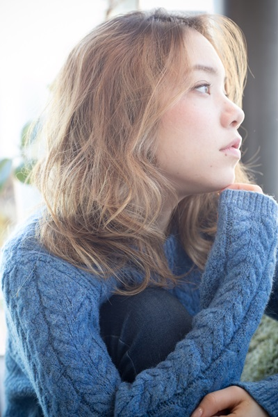 ☆スタイリング簡単 外国人風ラフウェーブ☆