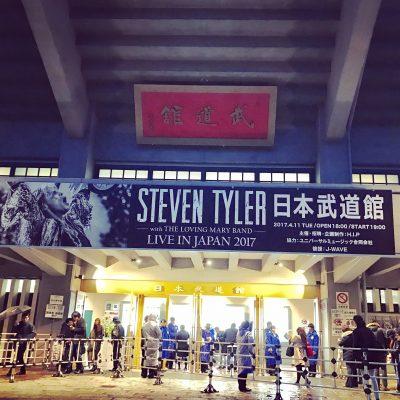 Steven Tyler Live in Japan 2017