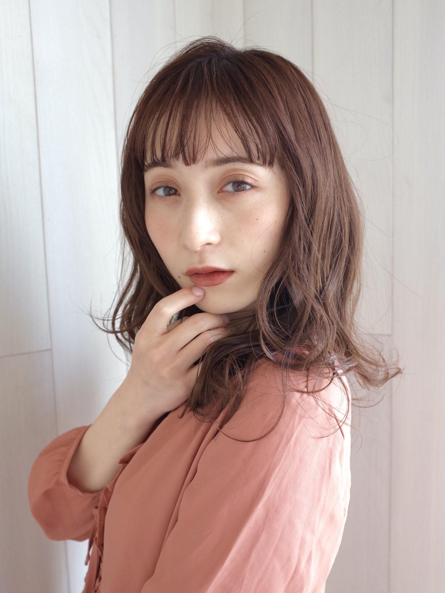 〜春に向けて☆ピンクベージュカラー〜