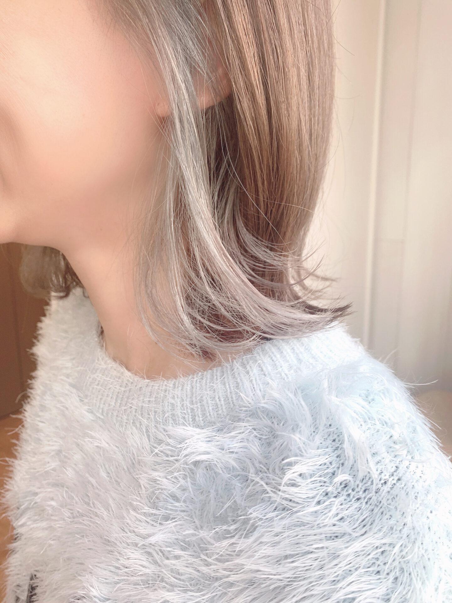 組み合わせる色で楽しめます♪イヤリングカラー☆^ ^