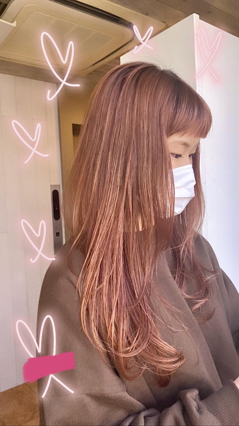 透明感!コーラルオレンジカラー★