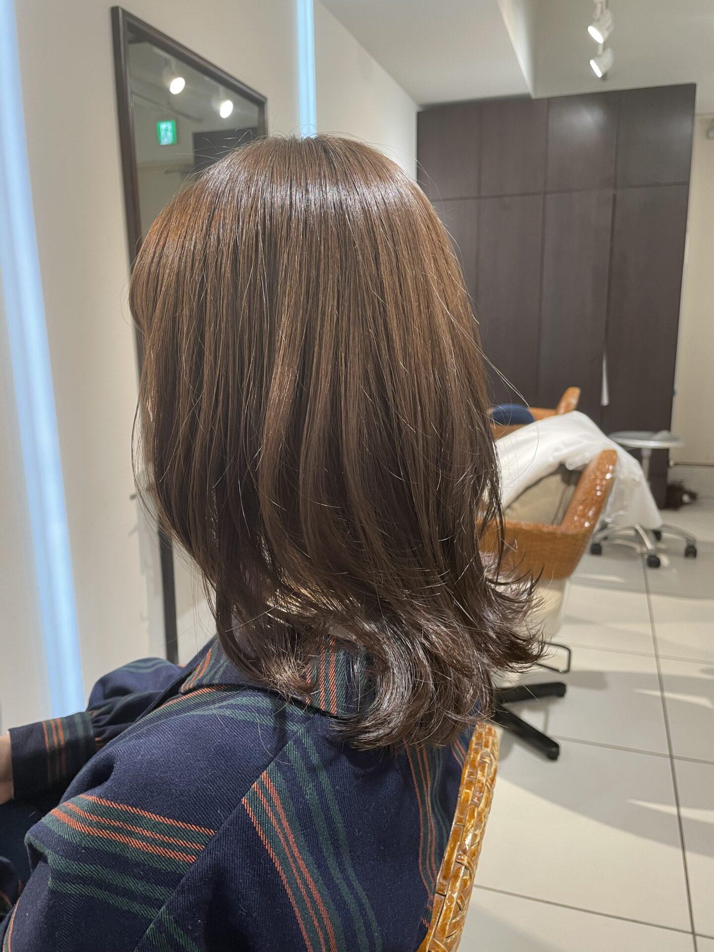 レイヤーヘアスタイル