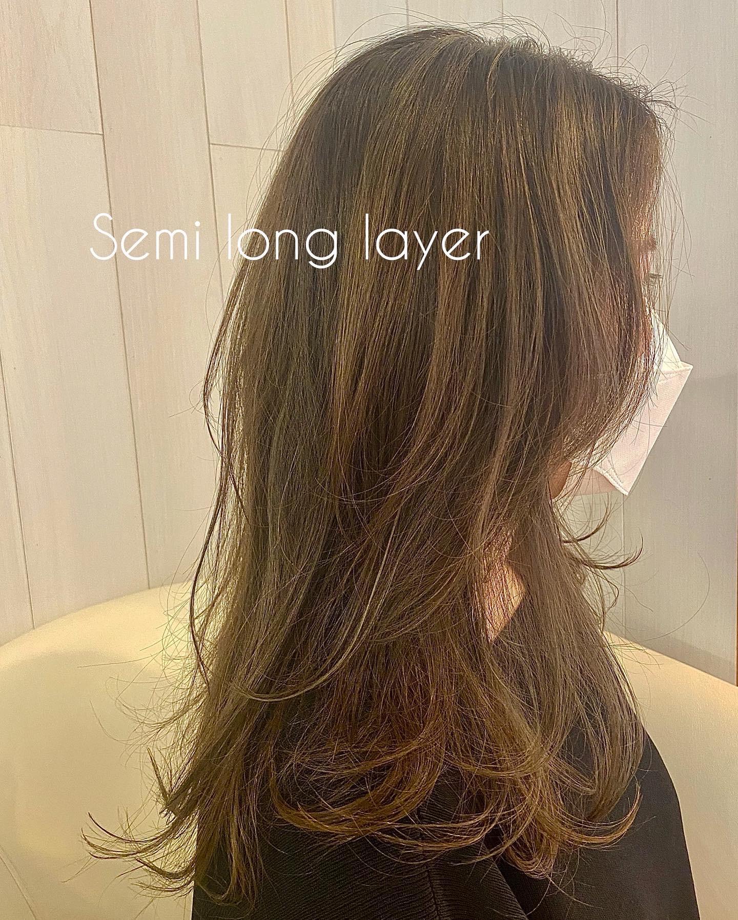 「伸びてきた前髪」は「レイヤースタイル」で活かす★